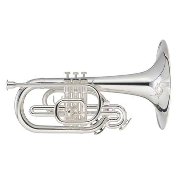 Silverplate Mellophone