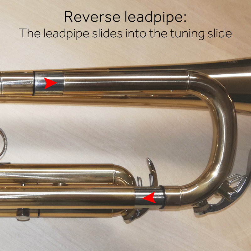 Reverse leadpipe diagram