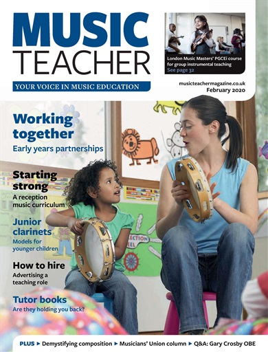 Music teacher feb 2020 clt review
