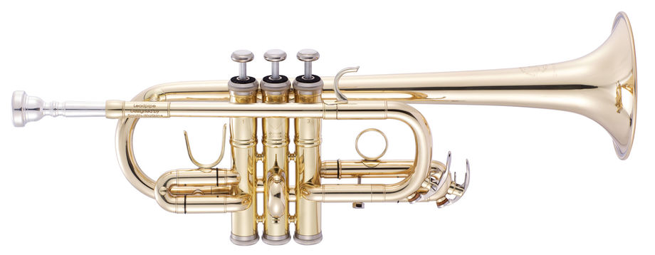 JP257SW trumpet instrument shot lacquer high res